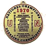 1970 Nat Champ Ornament