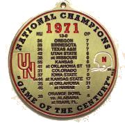 1971 Nat Champ Ornament