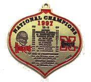 1997 Nat Champ Ornament