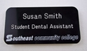 "1 1/2"" x 3""  Gravoply Name Badge where to buy namebadges, where to buy name badges, custom name badges, custom namebadges"