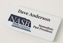 "1 3/4"" x 3 3/4"" Full Color Print, Metal Name badge  where to buy full color namebadges, where to buy namebadge, where to buy full color name badge, full color namebadge, full color name badge, sublimated name badge"