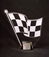 Acrylic Checkered Flag Trophy - AU360938