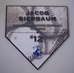 Full Color Baseball Home Plate Plaque - AU366032
