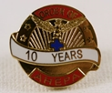 Pin - 10 Years of Service