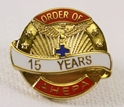 Pin - 15 Years of Service