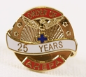 Pin - 25 Years of Service