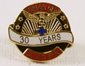 Pin - 30 Years of Service