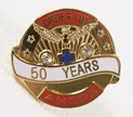 Pin - 50 Years of Service