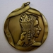 "Achievement Medallion, 2 1/4"", Gold - au13mddsms601"