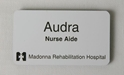 "2"" x 3 1/2""  Gravoply Name Badge where to buy namebadges, where to buy name badges, custom name badges, custom namebadges"