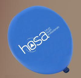 Blue HOSA Balloon