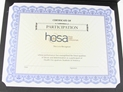 HOSA Certificates - Participation