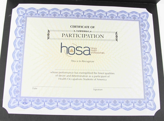 Hosa certificates participation ce1504 ce1504 yadclub Gallery