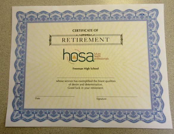 Certificate of appreciation retirement images for Retirement certificate template