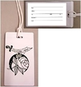 Luggage Tag - w/ card and plastic holder