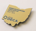 Name Badge - State Shape where to buy state shaped name badges, where to buy state shaped namebadges, state shaped name badges, custom state shaped name badge