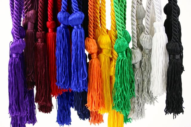 Hosa Graduation Honor Cords Available In Many Different Colors