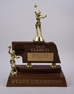 Authorized NSAA Miniature Nebraska High School State Trophy - nsaachamp
