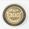 300th Consecutive Sell Out Coin 300 sell out coin, husker coin, bob devaney coin, where to buy husker coin, commemorative husker coin