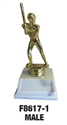 Ball Player - Batter where to buy cheap ball trophies, where to buy YMCA ball trophies, YMCA ball tropy, ball trophy,