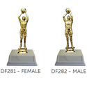 Basketball Shooter Trophy - Male or Female