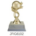 Basketball Star and Ball Trophy YMCA volleyball trophy, where to buy volleyball trophy, YMCA individual trophy, female volleyball trophy