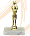 Basketball - Trophy - Female Shooter YMCA volleyball trophy, where to buy volleyball trophy, YMCA individual trophy, female volleyball trophy