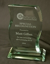 Custom Curved Glass Award where to buy glass award, SCCA Gifts, SCCA, custom glass award, low quantity