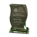 Custom Curved Glass Award - 401307A-SCCA