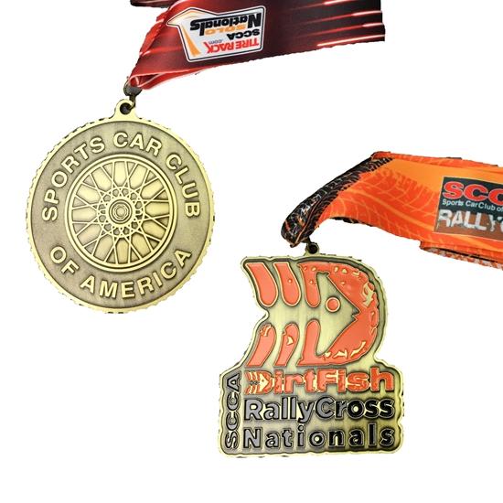 Custom Medals #SCCAMedal