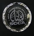 Diamond Edge Crystal Paperweight where to buy crystal, SCCA Gifts, SCCA, Crystal Paperweight,low quantity