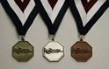 "HOSA Medallion - 1 1/2"" Octagon, Medal w/ neck ribbon"