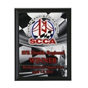 High Value Checkered Flag Plaque where to buy cheap race plaques, checkered flag awards, checkered flag plaques wood plaque, where to buy full color reproduction awards, quality awards,