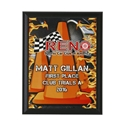 High Value Cone Plaque where to buy SOLO plaque, where to buy SCCA plaques, cheap racing plaque, cool racing plaque, scca racing plaque, scca award