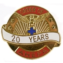 Pin - 20 Years of Service