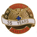 Pin - 35 Years of Service