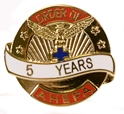 Pin - 5 Years of Service
