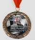 Racing Medal with Neck Ribbon - AU15382582BB