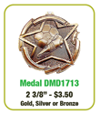 "Soccer - 2 3/8"" Soccer Medallion where to buy cheap soccer medals, where to buy YMCA soccer medals, soccer medal,"