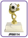 "Soccer - ""Ball"" Trophy where to buy cheap soccer trophies, YMCA soccer trophy, where to buy YMCA trophies, soccer trophies"