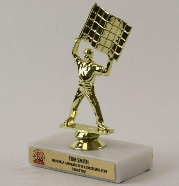 Checkered Flag Trophy Sccackftr