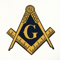"3"" Masonic sticker"