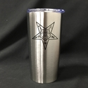 20 oz. double-walled tumbler with Eastern Star logo