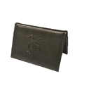 Black Leather Wallet for Lifetime Member Card
